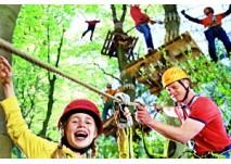 Kindergeburtstag im Schweriner Kletterwald