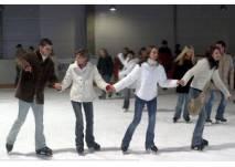 Eislaufschule in der Eishalle im SonneBad in Sonneberg