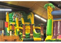 Spielewelten im Lufti-Hallenspielplatz Meckenbeuren