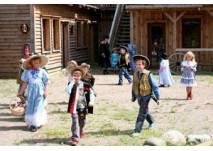Kindergeburtstag in der Westernstadt ELDORADO in Templin