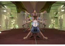 Kinder als Spiegelflieger im Universum® Bremen