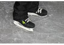 Eislaufen auf dem Hattsteinweiher in Usingen