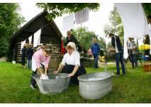 Erlebnisplatz_Waschen wie vor 100 Jahren_Freilandmuseum Lehde