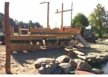 Piratenschiff im Wasserpark Hehlingen