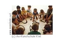 vhs-Kunstschule Kiel Kindergeburtstag