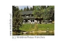 Bischofsgrün Karches Waldrasthaus