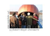 Robert-Mayer-Sternwarte Heilbronn Kindergeburtstag