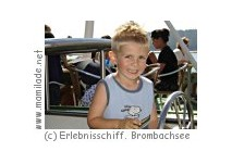 Erlebnisschiffahrt Brombachsee Mini-Kapitäns-Patent