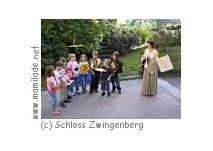 Schloss Zwingenberg - Kinderführung