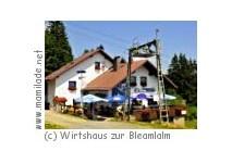 Fichtelberg-Neuhaus Wirtshaus zur Bleamlalm