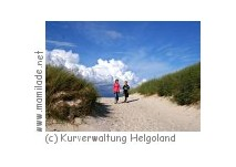 Helgoland Badedüne