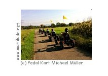 Rastatt Niederbühl Pedal Kart Kindergeburtstag