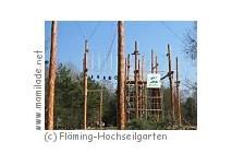Fläming-Hochseilgarten - kigeb