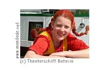 """""Pippi Langstrumpf"" Theaterschiff Batavia in Wedel"
