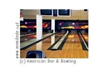Kindergeburtstag American Bar & Bowling Halle