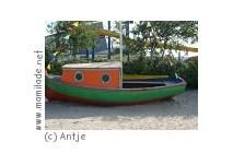 Spielplatz am Strand von Esens-Bensersiel