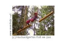 Hochseilgarten und Abenteuerpark Kell am See