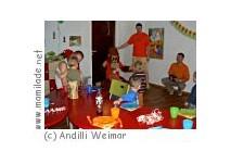 Kindergeburtstag im Andilli Weimar
