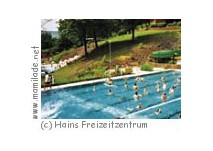 Windbergbad in HAINS-Freizeitzentrum in Tharandt/Freital