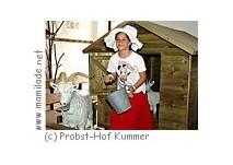 Kindergeburtstag auf dem Probst-Hof in Kummer