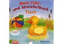 Kinderbuch:  Mein Fühl- und Streichelbuch Tiere kl