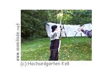 Kindergeburtstag im Hochseilgarten und Abenteuerpark Kell