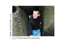 Kindergeburtstag im Felsenmeer im Odenwald
