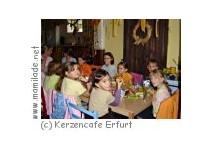 Kindergeburtstag im Kerzencafe Erfurt