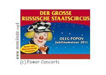 Jubiläumstour - Grosse Russische Staatscircus in Kassel