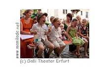 Kindergeburtstag im Galli Theater in Erfurt
