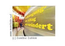 "Ausstellung ""In Bewegung..."" - Domäne Dahlem in Berlin"