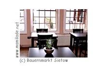 """Bauernmarkt """"Alte Stellmacherei"""" in Sietow"""