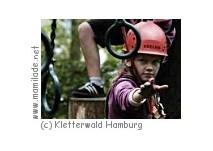 Kindergeburtstag im Kletterwald und Hochseilgarten Hamburg