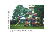 Kinderspielparadies Ballorig in Bad Iburg