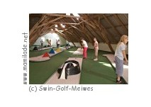 Indoor-Golfplatz