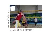 Beachvolleyball im Jackelino Sportpark