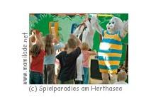 Kindergeburtstag im Spielparadies am Herthasee
