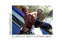 Kidsklettern in der Mensch Sport- u. Erlebniswelt