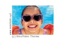 Kindergeburtstag in der Westfalen Therme