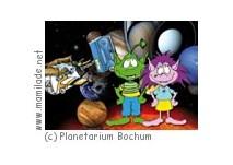Kindershows im Planetarium Bochum