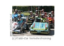 Kiddi-Car Verkehrstraining