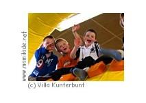 Kindergeburtstag in der Villa Kunterbunt