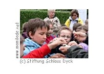 Kindergeburtstag im Schloss Dyck