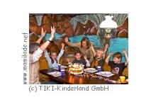 Kindergeburtstag im Tiki-Kinderland