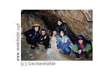 Kindergeburtstag in der Dechenhöhle