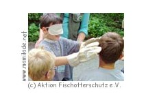 Kindergeburtstag im Otter-Zentrum Hankensbüttel
