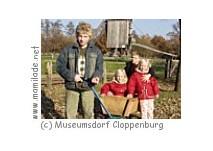 Kindergeburtstag im Museumsdorf Cloppenburg