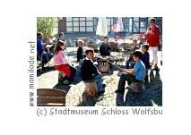 Kindergeburtstag im Stadtmuseum Schloss Wolfsburg