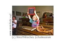 Kindergeburtstag im Westfälischen Schulmuseum
