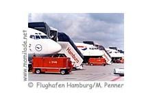 Modellschau und Rundfahrt am Flughafen Hamburg